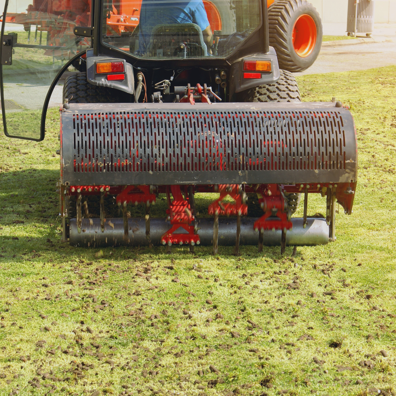 lawn aeration machine
